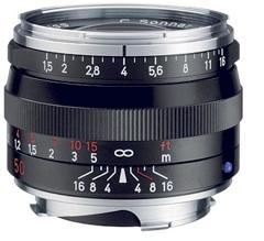 Zeiss 50mm f/1.5 C Sonnar T* ZM