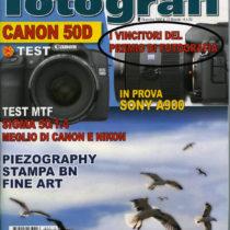 """Mensile """"TuttiFotografi"""", numero di dicembre 2008"""